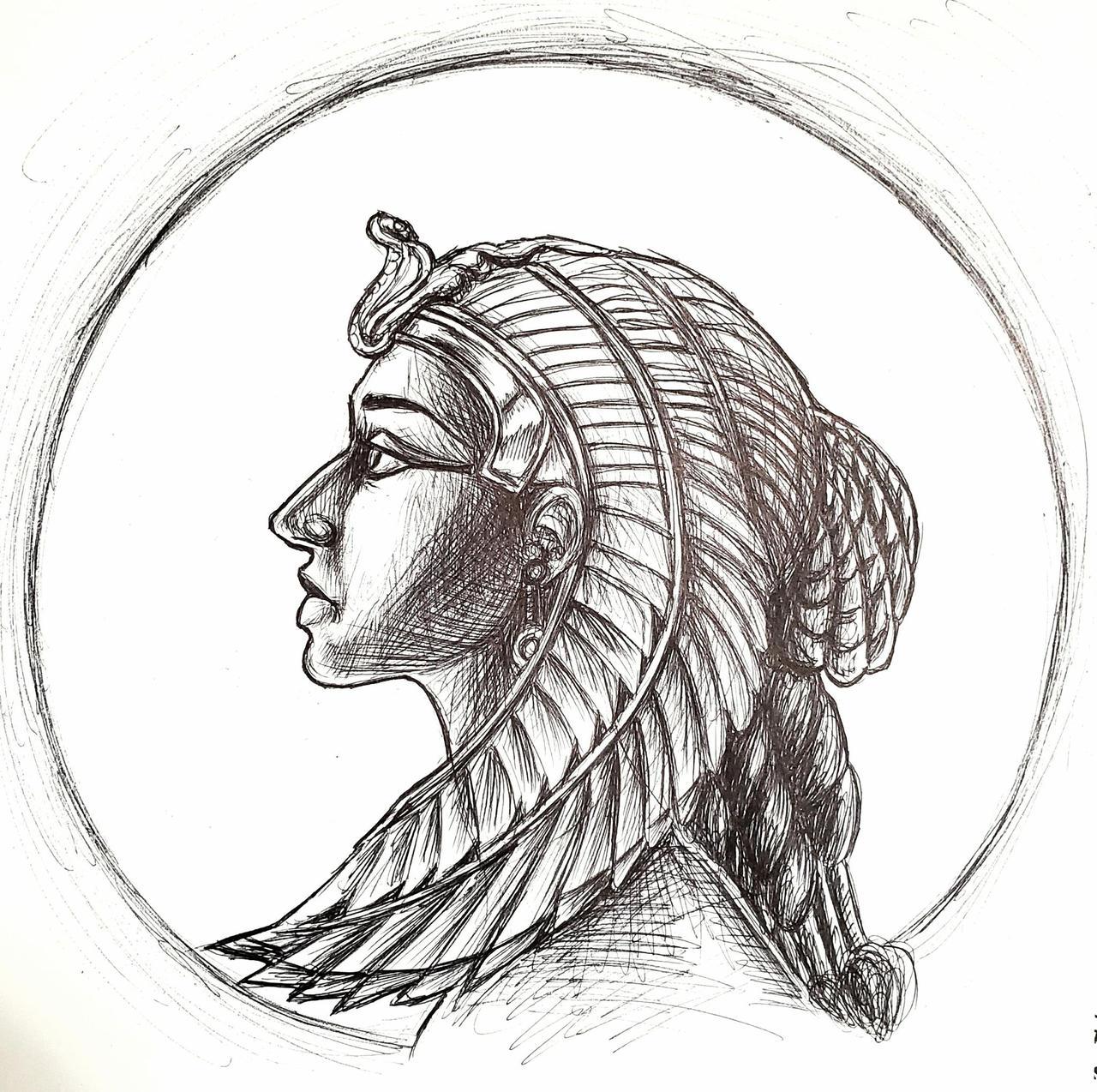 Profile Egyptian Queen