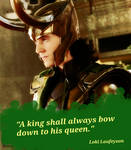 Loki Whispers-Bow by ArtisticDutchess