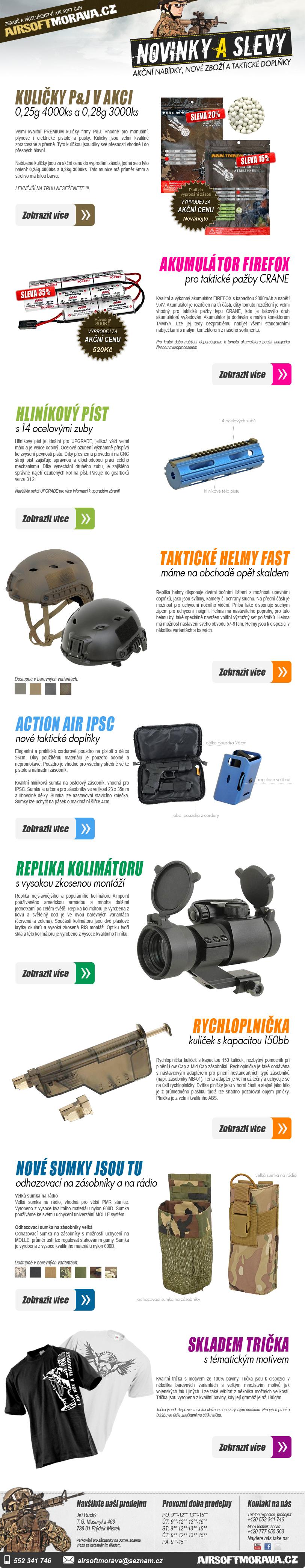 AirsoftMorava newsletter #6