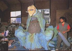 Biollante costume in the making. by ultimategodzilla