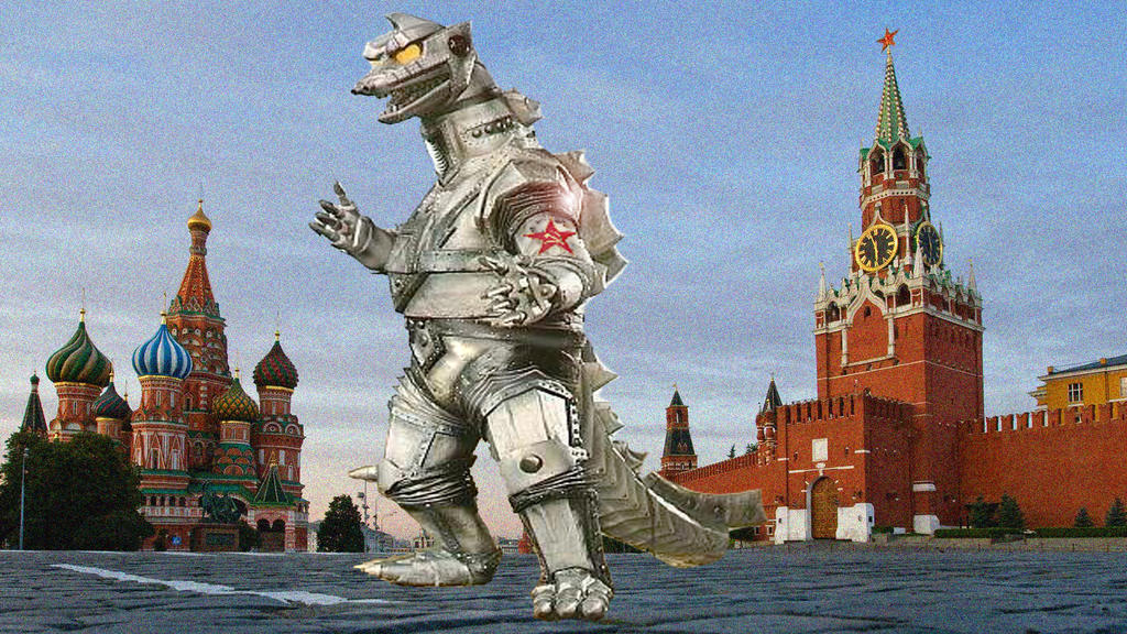 Mechagodzilla 3,Advance Weapon of the Soviet Union by ultimategodzilla