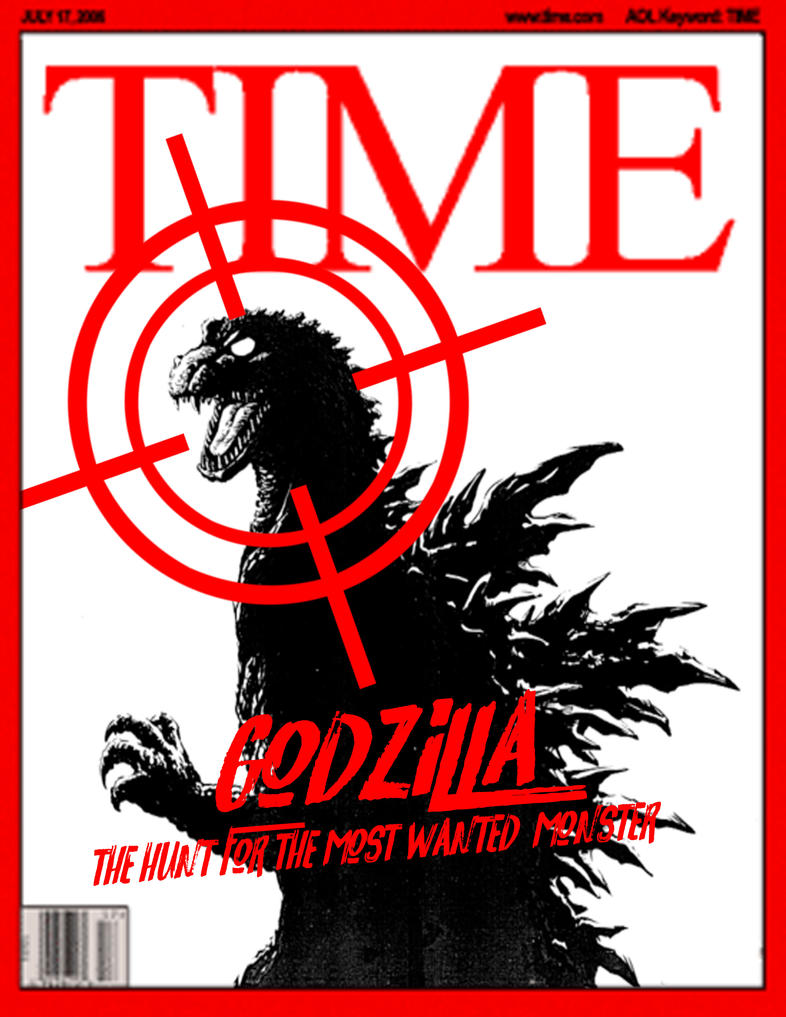 Time Magazine : Godzilla ManHunt by ultimategodzilla
