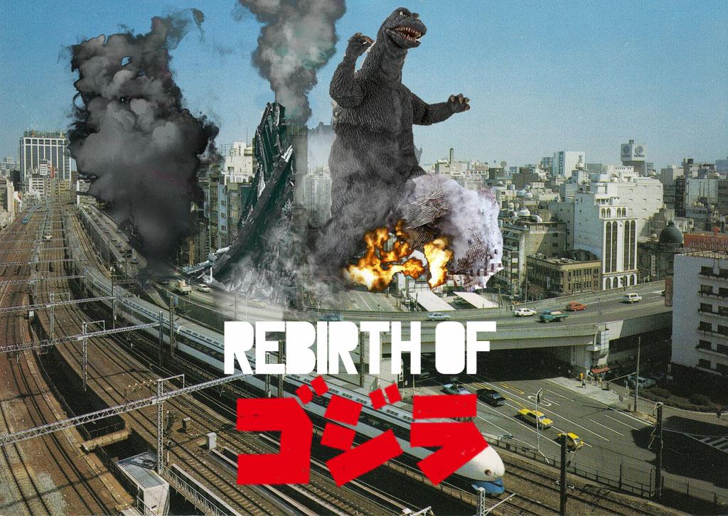 Rebirth of Godzilla 1978 fan poster by ultimategodzilla