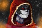 Skyrim OC Vethiria- Happy Halloween