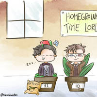 Grow Your Own Timelord by MsRandom1401