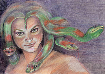 Medusa by indra13