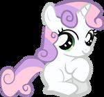 Sweetie Belle - Sitting Pretty
