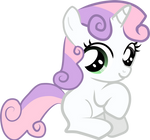Sweetie Belle - Sitting Pretty
