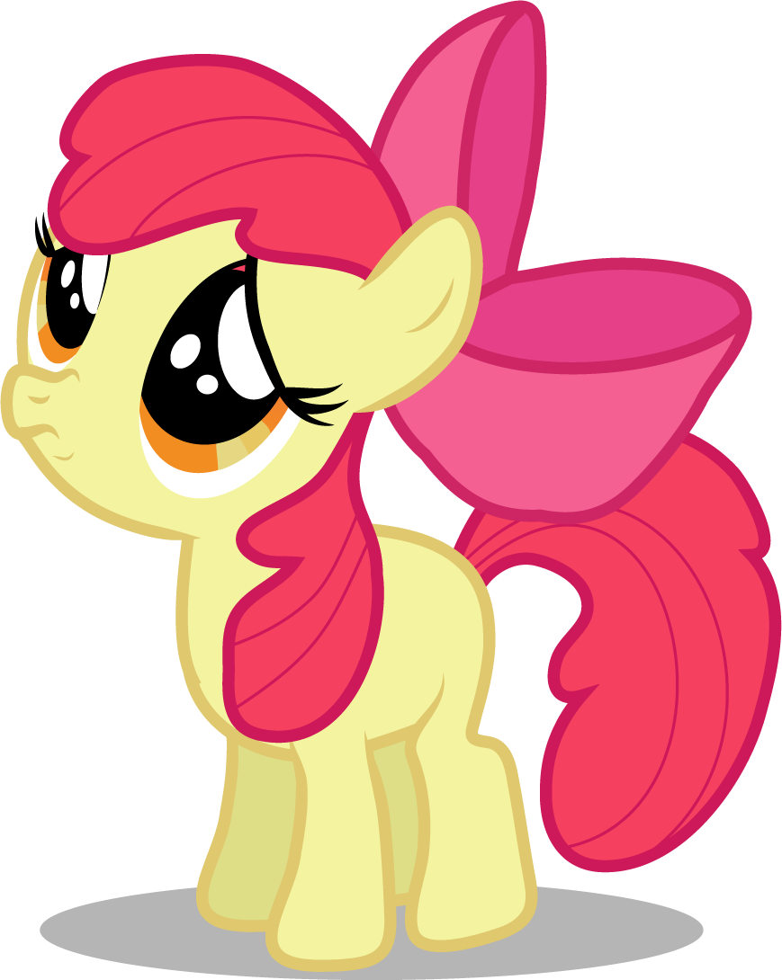 Sad Eyed Apple Bloom by Creshosk