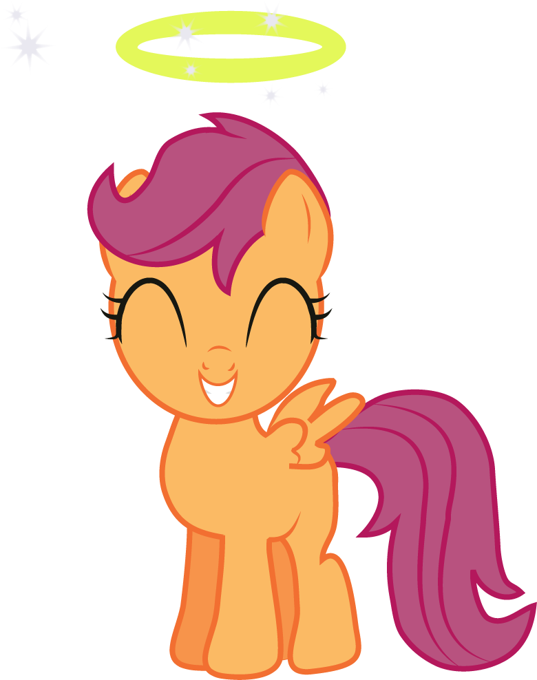 Little Angel Scootaloo by Creshosk