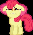 Sad Faced Apple Bloom