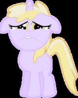 Sad Faced Dinky Hooves by Creshosk