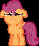 Sad Faced Scootaloo