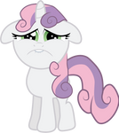 Sad Faced Sweetie Belle