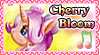 Cherry Bloom - Stamp by Creshosk