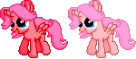 Cherry Bloom - Ponymon Sprite by Creshosk