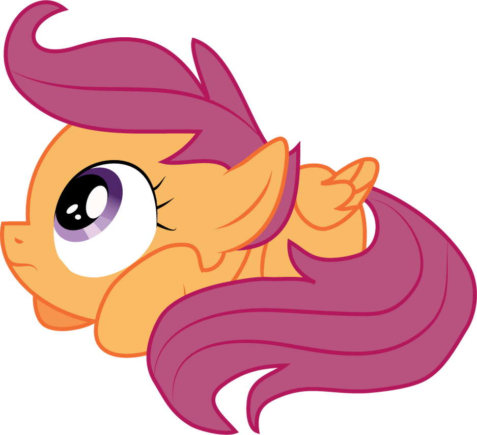 Scootaloo - Scootacower by Creshosk