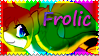 Frolic Stamp by Creshosk