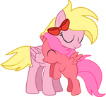 Twisting Bloom - Pony Hugs by Creshosk