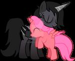 Midnight Bloom - Pony Hugs