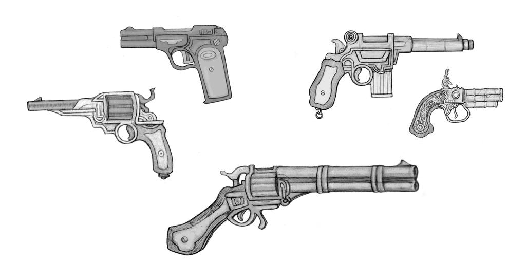 Golden Oceans: Firearms by Papposilenos