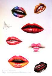 Tutorial - Lips by ochopanteras