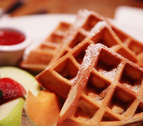Belgian waffles. 5 by Alhor-Ern