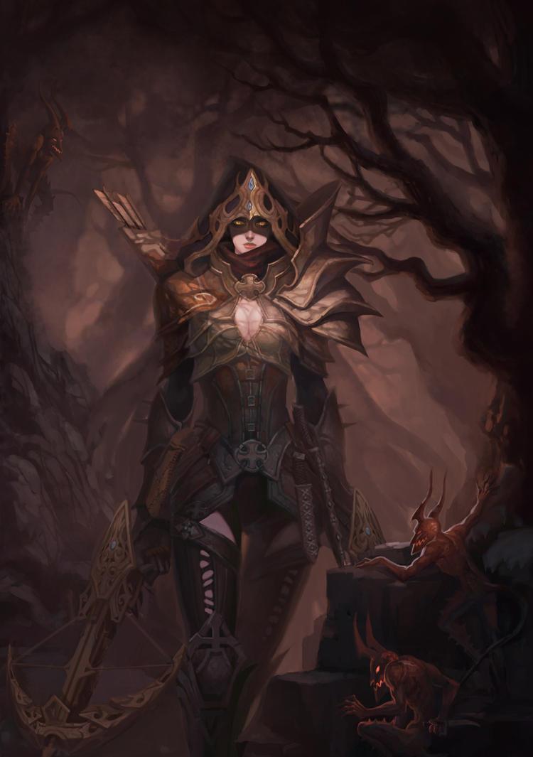 Demon Hunter by shuzong