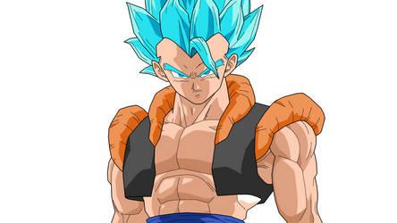 Gogeta Super Saiyan God Super Saiyan by Loraxdude