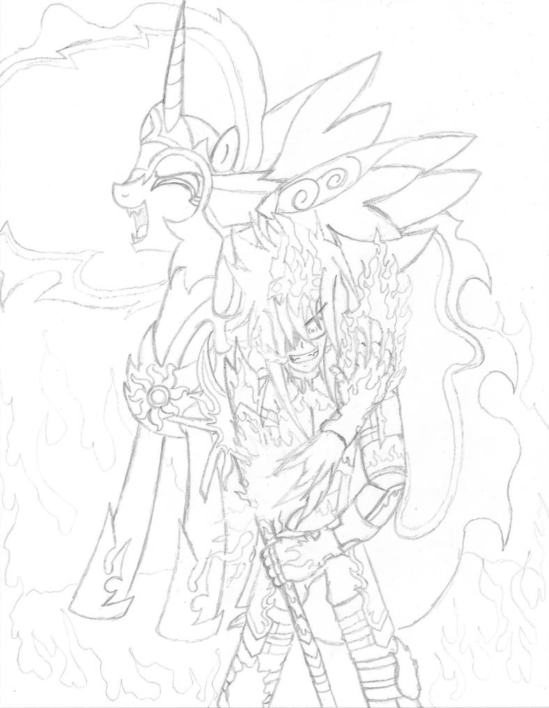 Daybreaker and Hell Fire by PiplupSTARSCommander