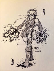 Inktober 30: Ruby