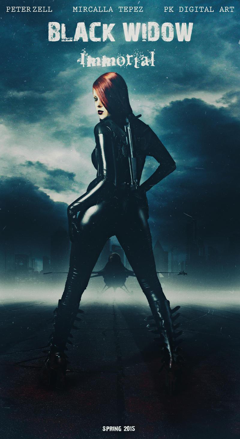 The Black Widow by Mircalla-Tepez