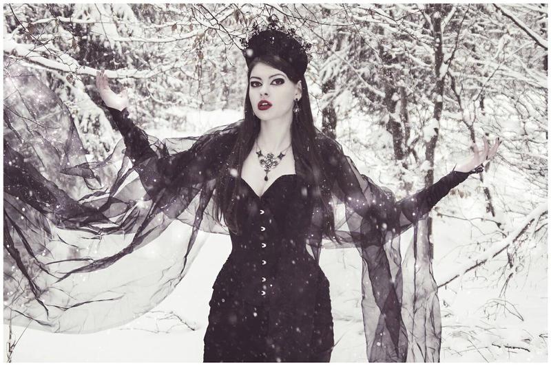 Dark Queen of the Snow by Mircalla-Tepez