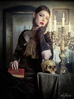 Gothic Novelist by Mircalla-Tepez