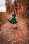 Autumn Promenade by Mircalla-Tepez