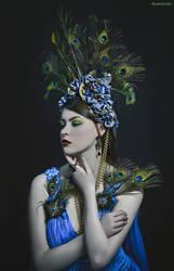 Peacock Queen by Mircalla-Tepez