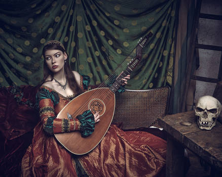 Lady and the Lute