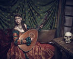Lady and the Lute by Mircalla-Tepez