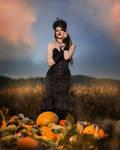 Pumpkin Queen by Mircalla-Tepez