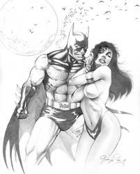 Batman vs Vampirella