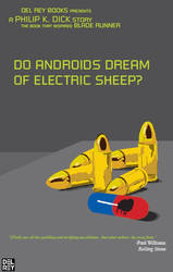 'Do Androids Dream of Electric Sheep?' Poster by NULLcHiLD