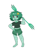 gemsona: CHRYSOPRASE by Keldeoite