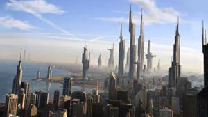 Futuristic Chicago