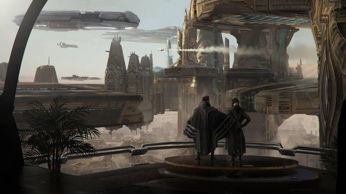 Scifi duneish thing by Scharborescus
