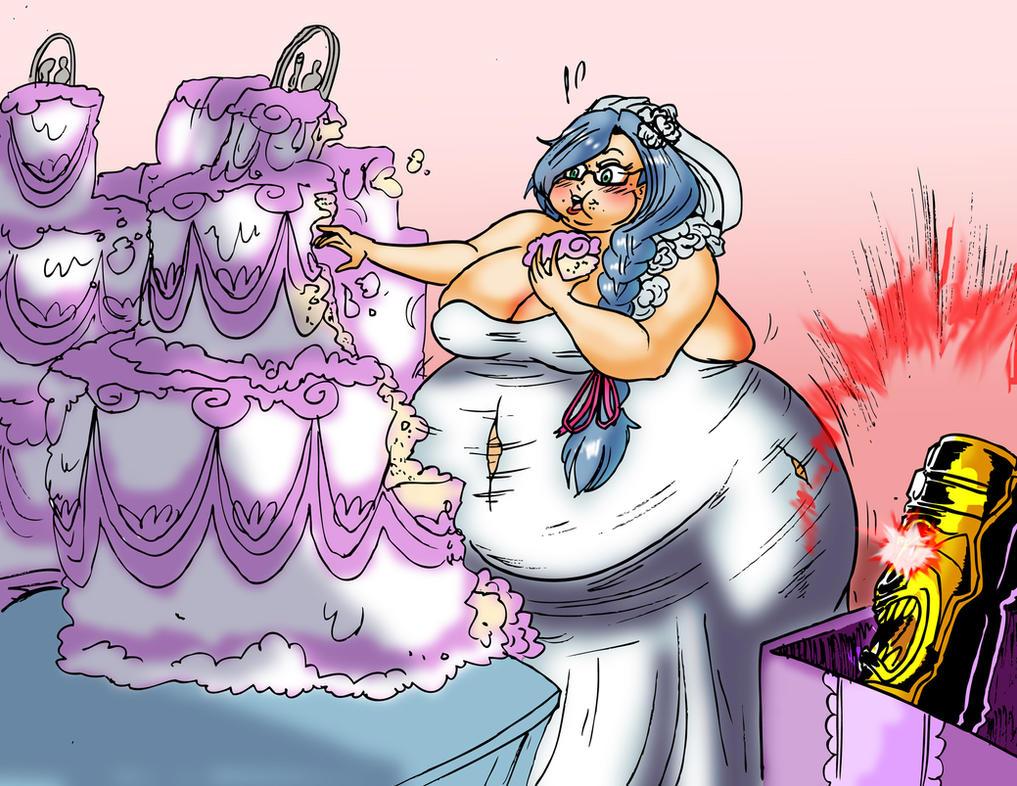 Wedding Cake Part 2 by Yer-Keij-fer-Cash