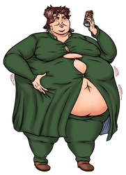 Kakyoin Fatty by Yer-Keij-fer-Cash