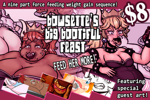 Bowsette's Big Bootiful Feast by Yer-Keij-fer-Cash