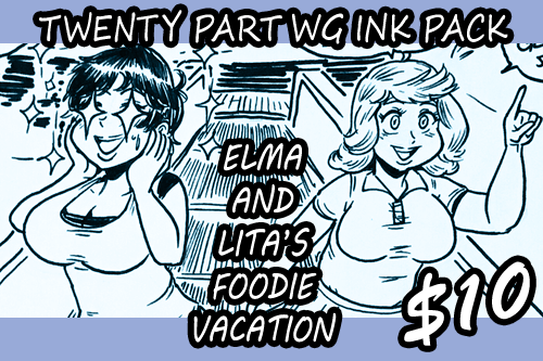 Elma and Lita's Foodie Vacation by Yer-Keij-fer-Cash