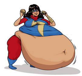 Ms Marvel Belly Patreon Request