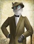 The gentleman....cat
